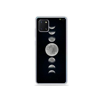 Capinha Fases da Lua para Galaxy Note 10 Lite
