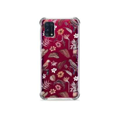 Capinha (transparente) para Galaxy M31 - Sweet Bird