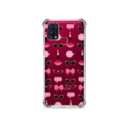 Capinha (transparente) para Galaxy M31 - Girls