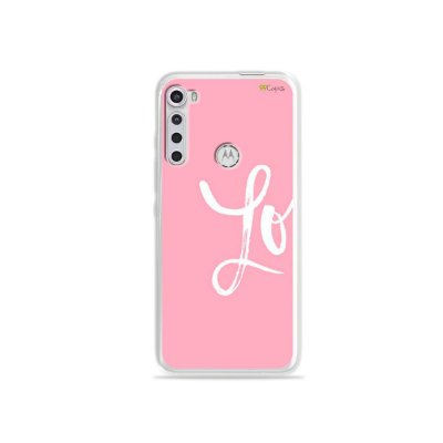 Capinha para Moto One Fusion Plus - Love 1