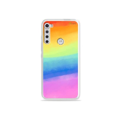 Capinha para Moto One Fusion Plus - Rainbow