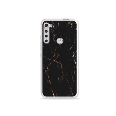 Capinha para Moto One Fusion Plus - Marble Black
