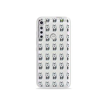 Capinha (transparente) para Moto One Fusion Plus - Husky