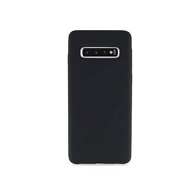 Silicone Case Cinza Chumbo para Galaxy S10 - 99Capas