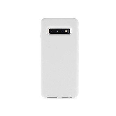 Silicone Case Branca para Galaxy S10 - 99Capas