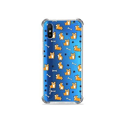 Capinha (transparente) para Redmi 9A - Cãozinho