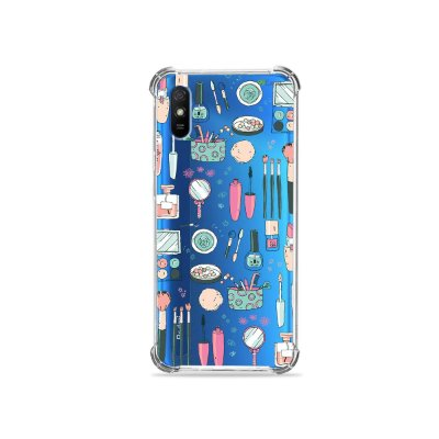 Capinha (transparente) para Redmi 9A - Make Up