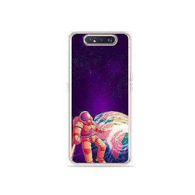 Capinha Selfie Galactica para Galaxy A80