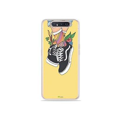 Capinha Sneakers para Galaxy A80