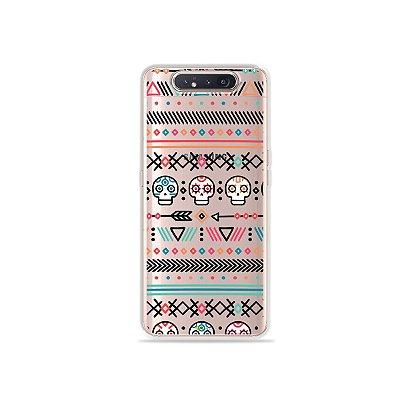 Capinha (Transparente) Tribal para Galaxy A80