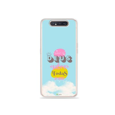 Capinha Amar a Deus para Galaxy A80