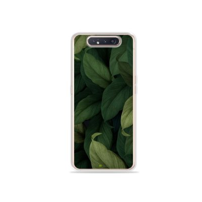 Capinha Folhas para Galaxy A80