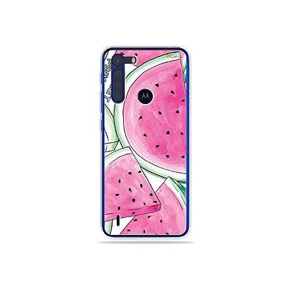 Capinha Watermelon para Moto One Fusion