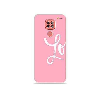 Capinha Love 1 para Moto G9 Play