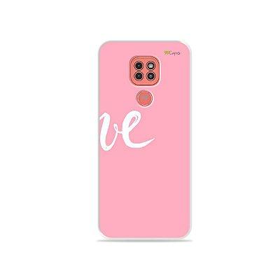 Capinha Love 2 para Moto G9 Play