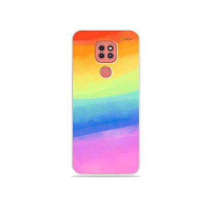 Capinha Rainbow para Moto G9 Play