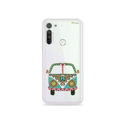 Capa (transparente) para Moto G8 - Kombi