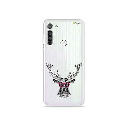 Capa (transparente) para Moto G8 - Alce