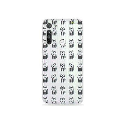 Capa (Transparente) para Moto G8 - Husky