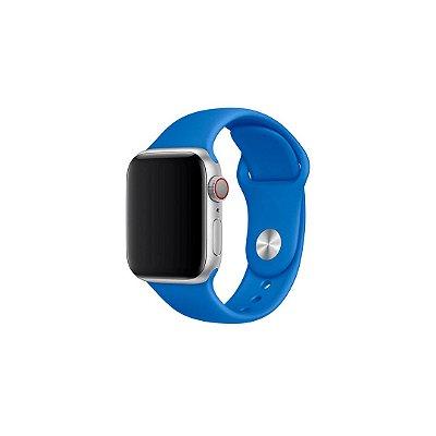 Pulseira Azul Marinho de Silicone para Apple Watch - 44mm