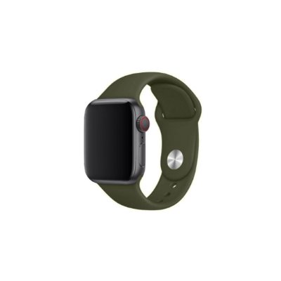 Pulseira Verde Cacto de Silicone para Apple Watch - 40mm