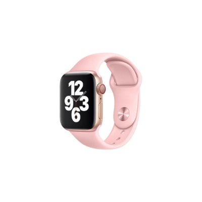 Pulseira Rosa Bebê de Silicone para Apple Watch - 40mm