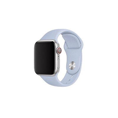 Pulseira Lilás de Silicone para Apple Watch - 40mm