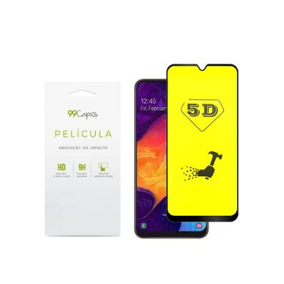 Película de Gel 5D (flexível) para Galaxy A30 - 99Capas