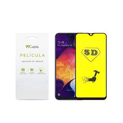 Película de Gel 5D (flexível) para Galaxy A70 - 99Capas