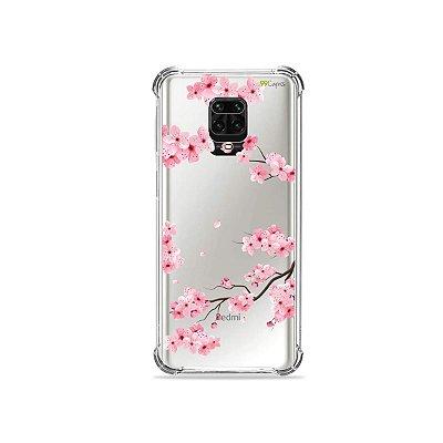 Capinha (Transparente) para Redmi Note 9 Pro - Cerejeiras