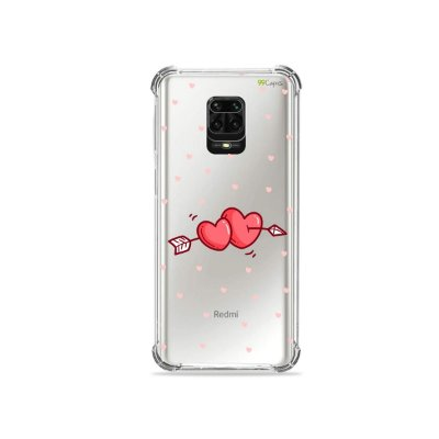 Capinha (Transparente) para Redmi Note 9 Pro - In Love