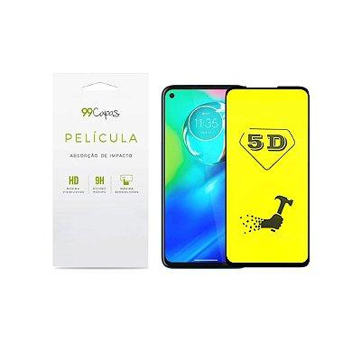 Película de Gel 5D (flexível) para Moto G8 - 99Capas