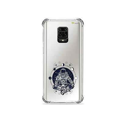 Capinha (Transparente) para Redmi Note 9 Pro - Astronauta