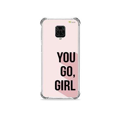 Capinha para Redmi Note 9 Pro - You Go, Girl