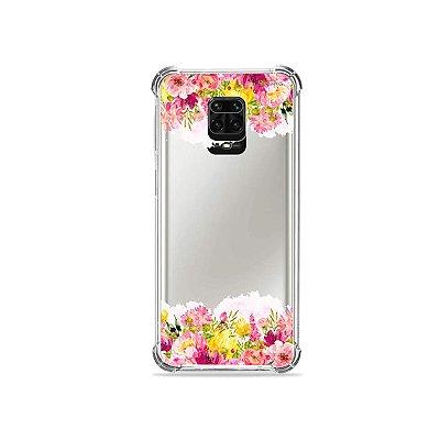Capinha (Transparente) para Redmi Note 9 Pro - Botânica