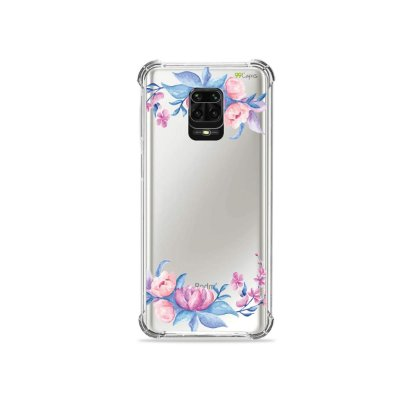 Capinha (Transparente) para Redmi Note 9 Pro - Bromélias