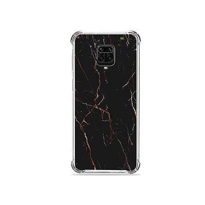 Capinha para Redmi Note 9 Pro - Marble Black