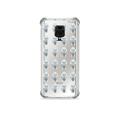 Capinha (Transparente) para Redmi Note 9 Pro - Poodle