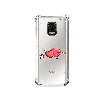 Capinha (Transparente) para Redmi Note 9S - In Love