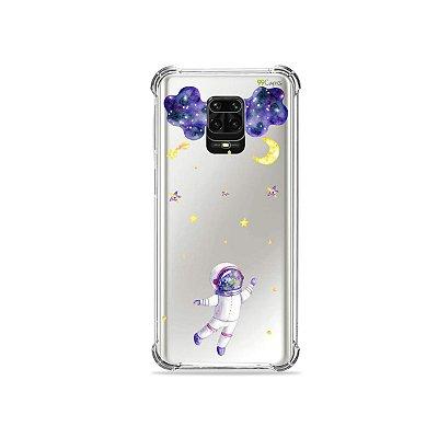 Capinha (Transparente) para Redmi Note 9S - Astronauta Sonhador