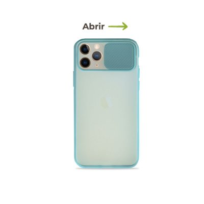 Capinha Soft Azul com proteção de câmera para iPhone 11 Pro - 99Capas