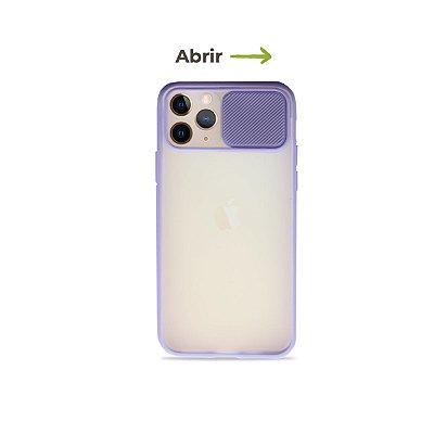 Capinha Soft Lilás com proteção de câmera para iPhone 11 Pro - 99Capas