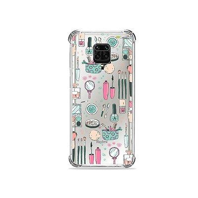 Capinha (Transparente) para Redmi Note 9S - Make Up