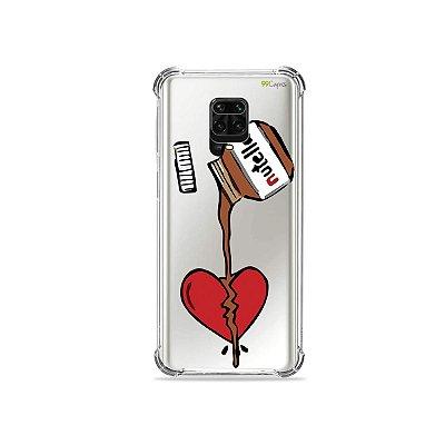 Capinha (Transparente) para Redmi Note 9S - Nutella