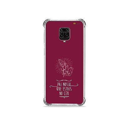 Capinha para Redmi Note 9S - Pai Nosso
