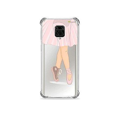 Capinha (Transparente) para Redmi Note 9S - Bailarina
