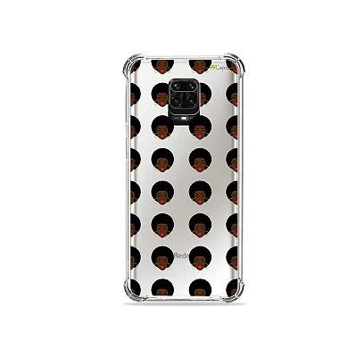 Capinha (Transparente) para Redmi Note 9S - Black Girl