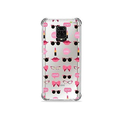 Capinha (Transparente) para Redmi Note 9S - Girls