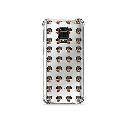 Capinha (Transparente) para Redmi Note 9S - Salsichinha