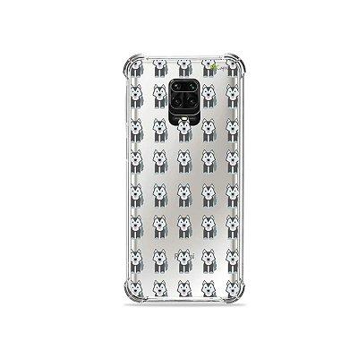 Capinha (Transparente) para Redmi Note 9S - Husky